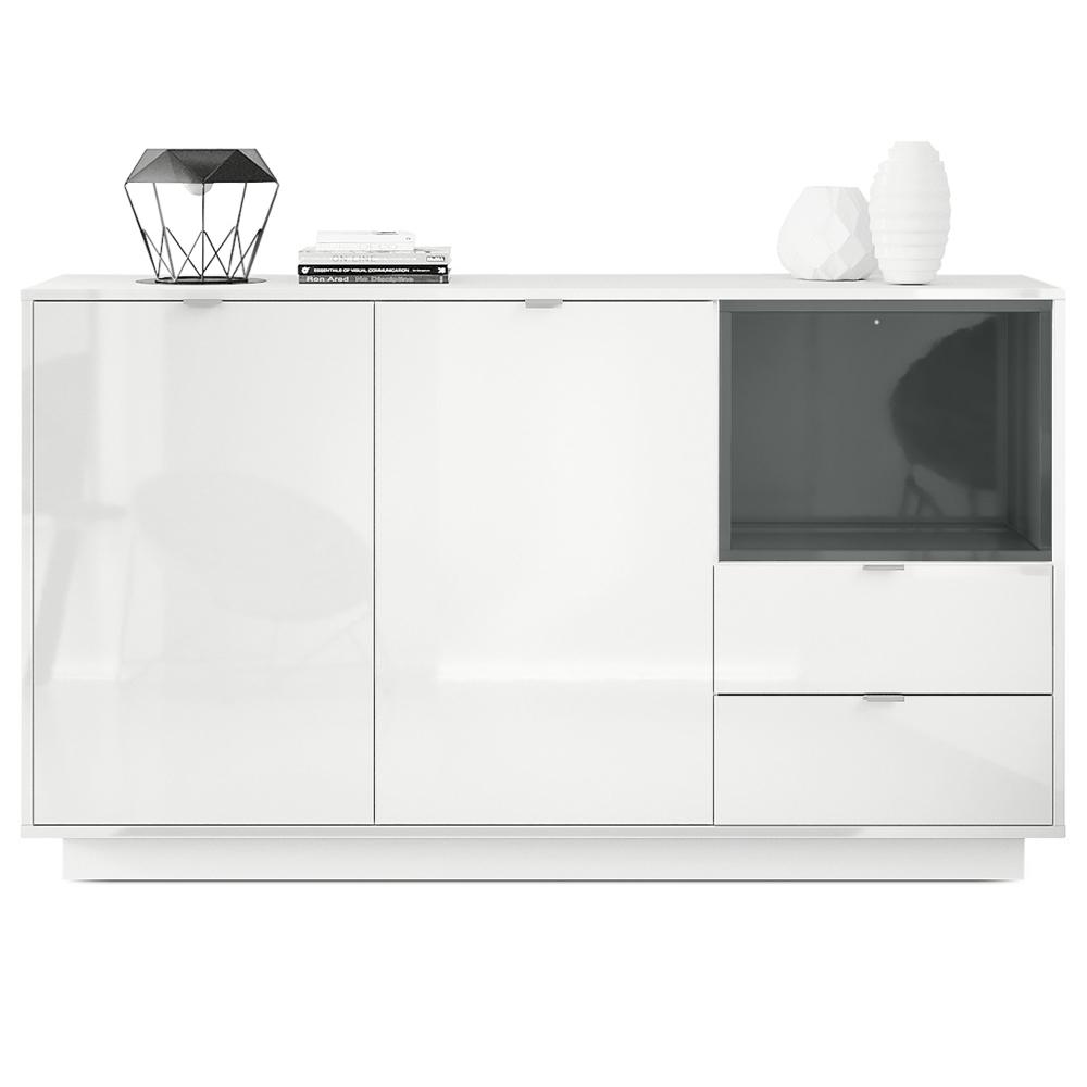 Topseller Sideboard Metro Weiß