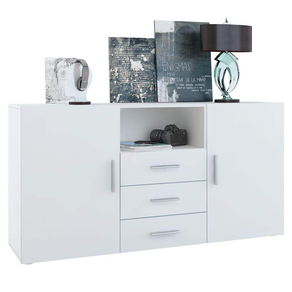 Topseller-Moebel Skadu Sideboard Weiß