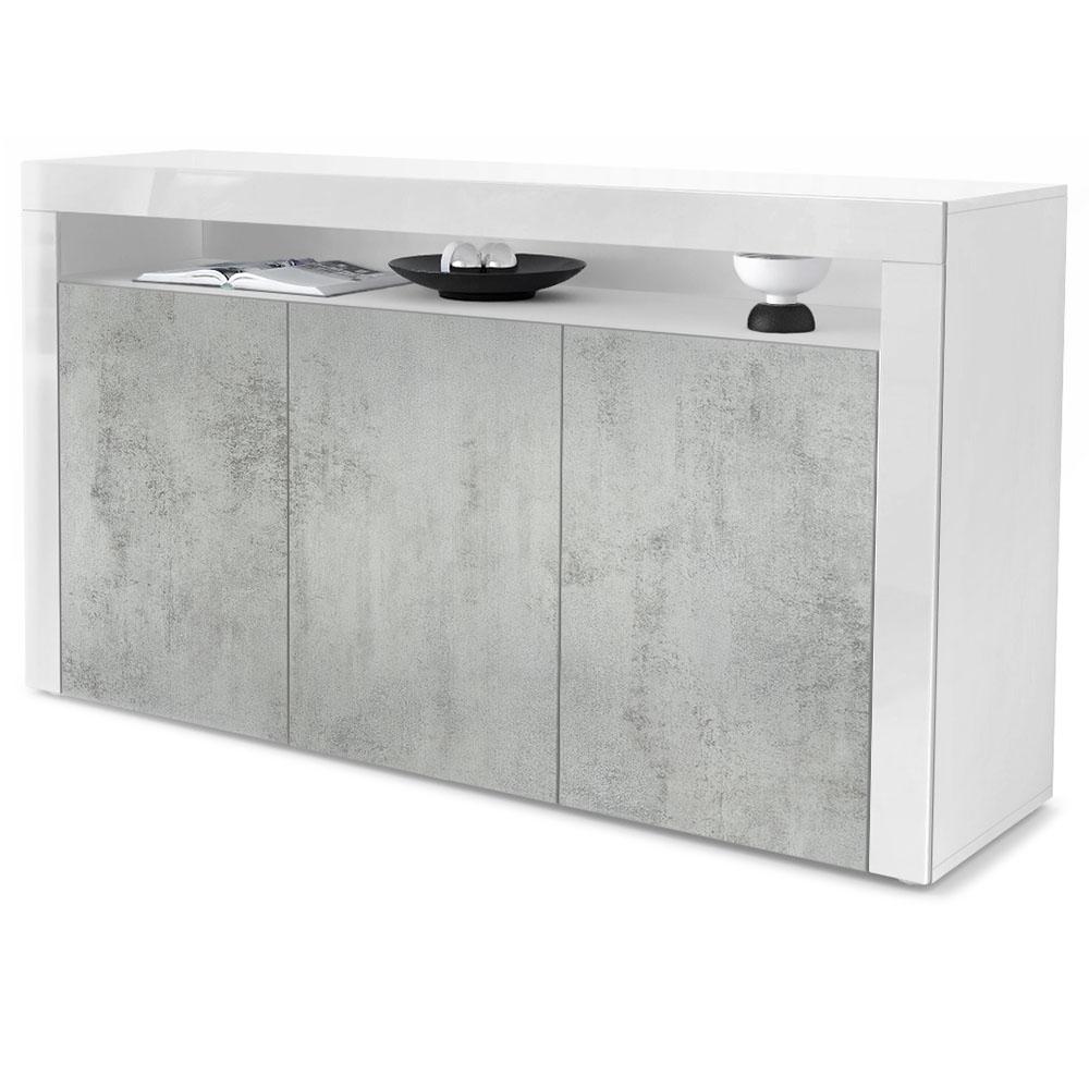 Topseller Valencia Sideboard Weiß